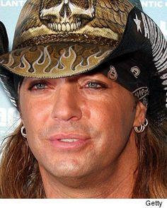 Bret Michaels doesn't just need good medical attention to survive his current condition -- he also needs luck. Bret Michaels Poison, Bret Michaels Band, 80s Hair Bands, Presents For Men, Music People, Ex Husbands, Hot Guys, Hot Men, Famous Faces