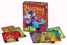 Sleeping Queens Gamewright Ages 8+