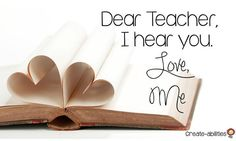 Dear Teacher I Hear You - Do you often feel unheard and alone as a teacher? Read this to feel more empowered and grateful for the amzing work you do each day! You make a difference! New Teachers, Elementary Teacher, Upper Elementary, 5th Grade Classroom, Kindergarten Classroom, 2nd Grade Activities, Sixth Grade, Second Grade, Creating A Blog