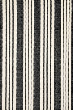 Birmingham Black Woven Cotton Rug - contemporary - rugs - Dash & Albert Rug Company
