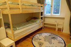 Etagenbett Im Geteilten Kinderzimmer   Schafft Platz Ist Praktisch. Statt  Im Geschwisterbett Nebeneinander Liegen Unsere