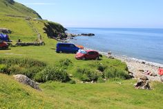 Cae Due Campsite Review, Coastal Sea View Camping