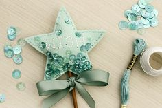 Felt Wish Wand by Erin Lincoln for Papertrey Ink (November 2015)