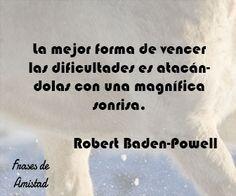 Frases de sonrisa de Robert Baden-Powell