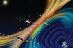 """""""Los sensores de la MMS medirán las velocidades de las partículas cargadas así como los campos magnético y eléctrico, con resolución temporal sin precedentes, de milisegundos, y la precisión necesaria para captar la elusiva, delgada y dinámica región de difusión de electrones"""", explica la NASA. La misión MMS ha sido desarrollada por el Centro de Vuelos Espaciales Goddard, en Maryland, y participan en su programa científicos diversos institutos de investigación estadounidenses en…"""