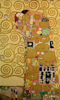 Fulfilment (Stoclet Frieze) c.1905 - Klimt