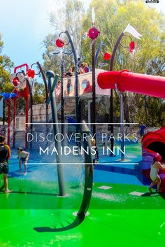 Maidens Inn Discovery Park in Moama Australia opens its own water park