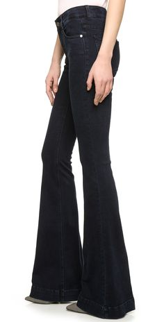 Stella McCartney The 70 Flare Long Jeans | SHOPBOP