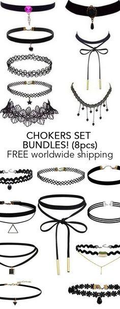 Choker Set Bundles! (8pcs)