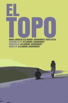 El Topo / The Holy Mountain / Santa Sangre Movie Posters (Jodorowsky)