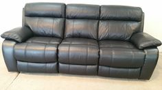 Brown chestnut designer 3 seater sofa + electric arm chairs (214) £799  #RePin by AT Social Media Marketing - Pinterest Marketing Specialists ATSocialMedia.co.uk