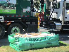 The Bagster Bag Gets Job Done Cleanup Diy Get
