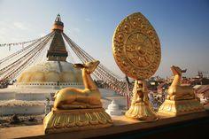 17th century Old kathesimbhu Stupa in Kathmandu, Nepal. #Travel #Nepal #Kathmandu