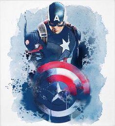 More awesome Captain America artwork