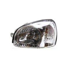 2001-2003 Hyundai Santa Fe Head Light LH, Assembly