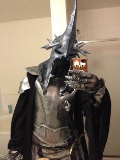 Halloween costume: Come not between the Nazgul and her prey!