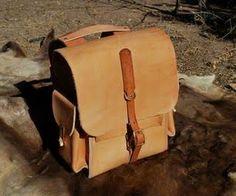 Leather Rucksack Работа По Коже, Винтажная Кожа, Рюкзаки, Ручная Работа,  Сумки, 25b304c7931