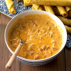 Chili Queso Dip Be ready for a last-minute party by keeping a few of these make-ahead potluck recipes on hand. Each recipe feeds 12 for plenty to go around. Potluck Dishes, Potluck Recipes, Dip Recipes, Mexican Food Recipes, Mexican Dishes, Casserole Recipes, Potluck Ideas, Cheese Recipes, Copycat Recipes