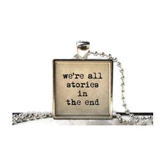 """We're all stories in the end. As Byron Katie states, """"who would you be without your story?"""" The story is the baggage yo. Antique Necklace, Resin Necklace, Resin Jewelry, Antique Jewelry, Jewlery, Jewelry Necklaces, Fun To Be One, No Time For Me, Peace And Love"""