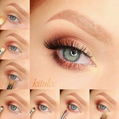 Basic eye makeup tutorial step by step for beginners