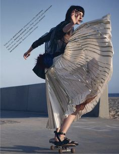 mouvement de mode: athena wilson by takay for elle france 23rd may 2014