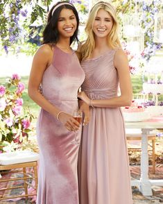 Morilee's Bridesmaid dress collection by Madeline Gardner combines timeless beauty with contemporary playfulness that will blend beautifully with your own gown. Dream Wedding Dresses, Boho Wedding, Wedding Gowns, Bouquet Wedding, Wedding Nails, Spring Wedding, Destination Wedding, Bridesmaid Dresses, Prom Dresses