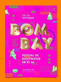BOMBAY—Festival de Bollywood on Behance