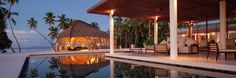 Park Hyatt Maldives Hadahaa – barefoot luxury resort in Maldives experience, a perfect private island holiday with soft sandy beaches. Maldives Resort, Bora Bora, Hotels And Resorts, Sun Lounger, Pergola, Outdoor Structures, Patio, Luxury, Outdoor Decor