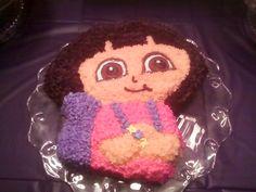 Maddies Dora cake!