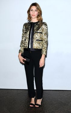 Sofia Coppola en Louis Vuitton http://www.vogue.fr/mode/look-du-jour/articles/sofia-coppola-en-louis-vuitton-4/19208