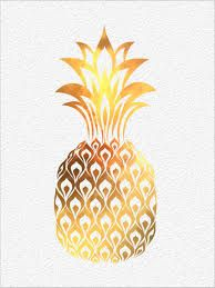 watercolor tattoo of pineapple - Google Search