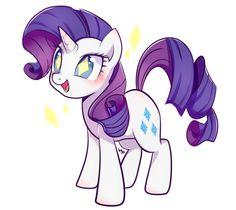 Cutie Rarity by on DeviantArt My Little Pony Rarity, My Little Pony Cartoon, My Little Pony Drawing, My Little Pony Fotos, My Little Pony Pictures, Mlp Rarity, Little Poni, Mlp Pony, Pony Pony
