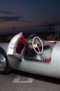 Throughout the early stages of the Jaguar XK-E, the lorry was supposedly planned to be marketed as a grand tourer. Porsche 356, Porsche Cars, Porsche Boxster, Lamborghini, Ferrari, Classic Motors, Classic Cars, Porsche Sports Car, Vintage Porsche