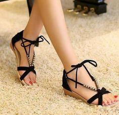 Open Toe Women Wedges Sandals Leuconostoc Women's Sandals