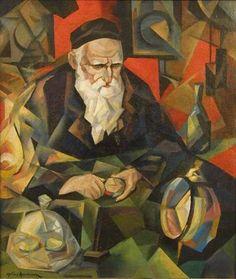 nathan altman   Nathan Altman The Ziger Macher (the watch mender-1914)