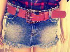 #short-saiajeanscomcinto #estilofashion