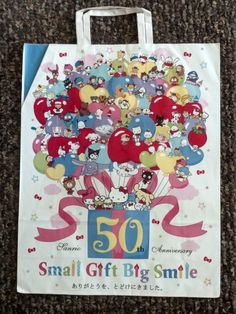 46320a23e5e5 SANRIO 50th ANNIVERSARY STORE BAG