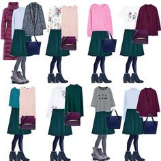 How to assemble a winter basic wardrobe? How to assemble a winter basic wardrobe? Wardrobe Basics, Capsule Wardrobe, Smart Casual Work, Color Combinations For Clothes, Rock Outfits, Formal Outfits, Emo Outfits, Look 2018, Batman Outfits
