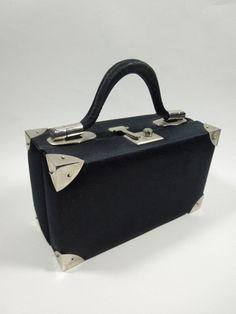 1960s Judith Leiber for Bonwit Teller box purse