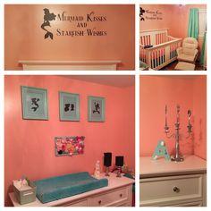 Little mermaid nursery
