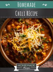 Homemade Chili Recipe That's Quick & Easy