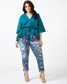 MELISSA McCARTHY Pop Art Skinny Jean
