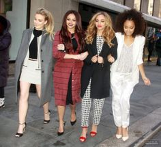 Perrie Edwards, Jesy Nelson, Jade Thirlwall, and Leigh Anne Pinnock <3