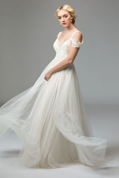 @watterswtoo Willowby Style 57703 Tilda Wedding Gown with Infinity Straps.Visit the collection at Debra's Bridal Shop at the Avenues, 9365 Philips Hwy., Jacksonville, FL 32256. Call us for your consultant appointment at (904) 519-9900.