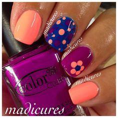 Instagram photo by madicures #nail #nails #nailart  Free Nail Technician Information   http://www.nailtechsuccess.com/nail-technicians-secrets/?hop=megairmone