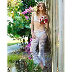 Nora Crochet Pants - Beauty & the Beach - Ilada  - 2