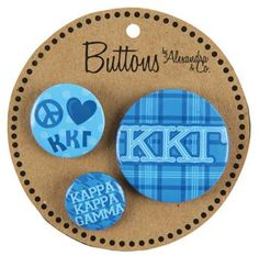 Buttons – Kappa Kappa Gamma / AA1055 | GREEK GALLERY