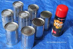 Repurposed Tin Cans...