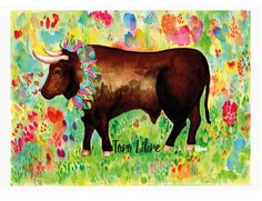 For the ban of Bullfighting. Bulls and all animals should be free and happy, without any exploitation of humans. My Design, Moose Art, Happy, Artwork, Free, Animals, Work Of Art, Animales, Auguste Rodin Artwork