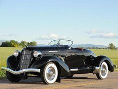 1936-Auburn 852 SC Speedster - Desktop Nexus Wallpapers